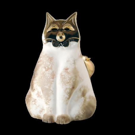 Chat en céramique t or de Pauline Pelletier